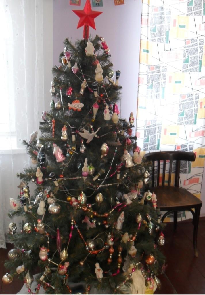 Decorating Christmas Tree In Scotland