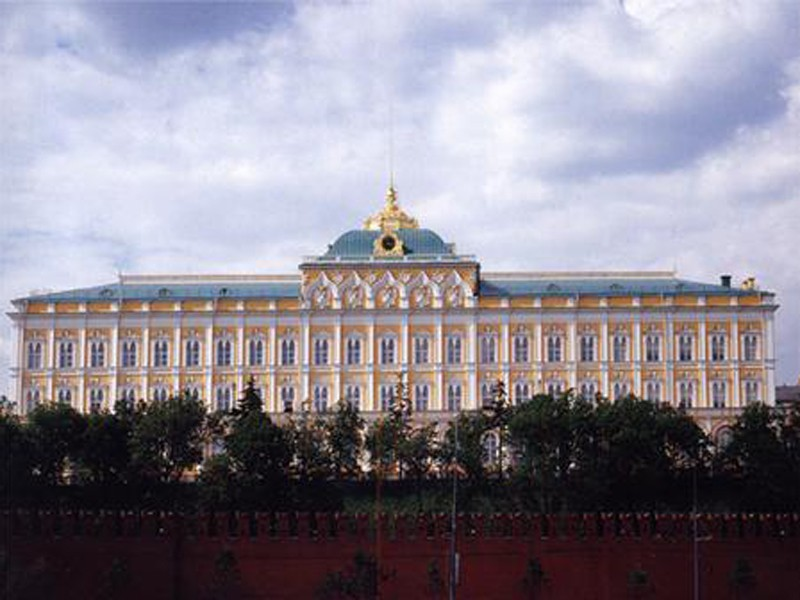 Кремлевский дворец находится в
